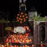 Могила  сестры Марты 1.11.2006