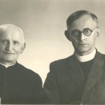 Брат с. Марти- о. Ян  з племінником о. Гельмутом Вєцкім