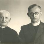 Fratello di sr. Marta – don Giovanni con il nipote don Helmut