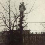 Фігура св. Яна Непомуцена  напроти дому с. Марти