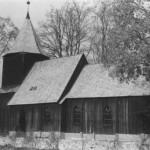 Костел  в Счодровe где крестили Марту