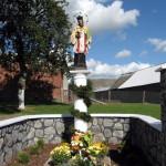 La statua di S.Giovanni Nepomuceno