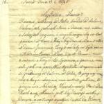 лист написаний до матері з нагоди дня іменин