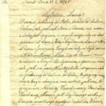 La lettera di sr. Marta a sua mamma