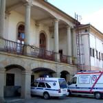 Il vecchio ospedale a Bochnia