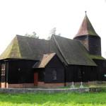 La chiesa a Szczodrowo