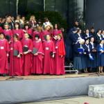 Połączone chóry podczas Mszy św. beatyfikacyjnej S. Marty
