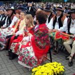 Delegacja z parafii pod wezwaniem Wniebowzięcia NMP w Ochotnicy Dolnej