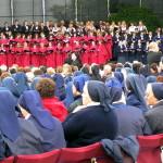 Połączone chóry podczas Mszy św. beatyfikacyjnej