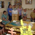 Modlitwa przy relikwiach